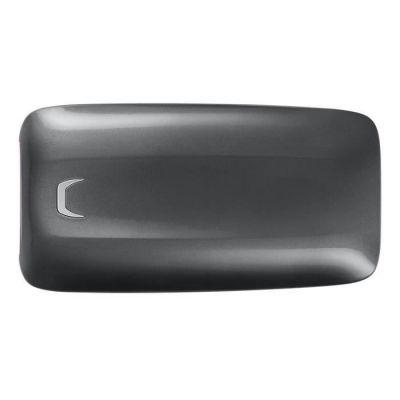 image SSD X5 portable Samsung de 500 Go, SSD Thunderbolt 3 externe (40 Gbps), 2800 Mo / s en lecture, écriture de 2 100 Mo / s, commerce de détail - MU-PB500B/EU