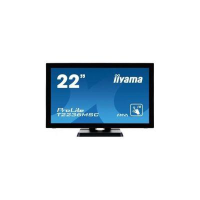 "image iiyama Prolite T2236MSC-B2 Moniteur tactile Multi-Touch P-Cap 21,5"" LED Full HD VGA/DVI/HDMI Multimédia Traitement Noir"