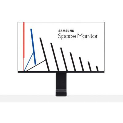 """image Samsung S32R750 Ecran PC SPACE Monitor, Dalle VA 32"""", Résolution UHD 4K (3840 x 2160), 60 Hz, 4ms, Pied reglable en Hauteur, Noir"""