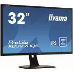 "image produit iiyama ProLite XB3270QS-B1 Écran LED 31,5"" IPS WQHD VGA/DP/HDMI Pied réglable en hauteur Multimédia Bords fins Noir"