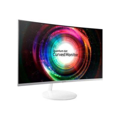 image Samsung C27H711 27 pouces (81,3 cm) 2560 x 1440 pixels 4 ms Wide Quad HD VA LED écran plat de PC Blanc