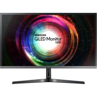 """image Samsung U28H750UQU 27.9"""" 4K Ultra HD TN Noir Plat écran plat de PC écrans plats de PC (70,9 cm (27.9""""), 3840 x 2160 pixels, LED, 1 ms, 300 cd/m², Noir)"""