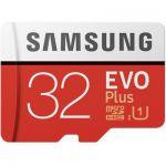 image produit Samsung MB-MC32GA/EU Carte mémoire microSDHC Pro Plus 64 Go UHS Classe de Vitesse 3, Classe 10 pour Action Cam, smartphone et tablette avec adaptateur SD (modèle 2017) EVO Plus 32 Go Rouge/Blanc
