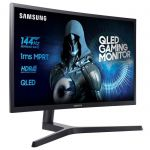 SAMSUNG C32HG70 - Ecran incurvé 32 pouces QLED WQHD - Dalle VA - 1ms - 144Hz - HDMI/Display port - FreeSync