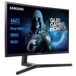 SAMSUNG C32HG70 - Ecran incurvé 32 pouces QLED WQHD - Dalle VA - 1ms - 144Hz - HDMI/Display port - FreeSync
