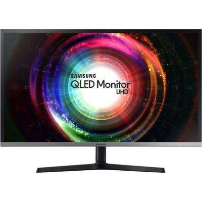 """image Samsung U32H850 32"""" 4K Ultra HD VA Noir, Argent Plat écran plat de PC écrans plats de PC (81,3 cm (32""""), 3840 x 2160 pixels, LED, 4 ms, 250 cd/m², Noir, Argent)"""