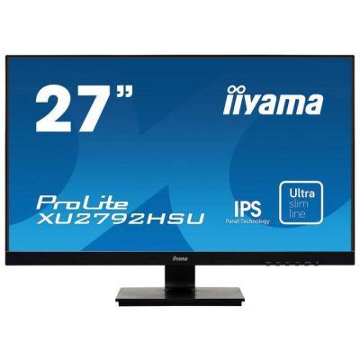 image iiyama ProLite XB2483HSU-B3 AMVA Ecran LED 24'' Full HD 1920 x1080 4ms Full HD VGA/HDMI/DP USB 2.0 Noir