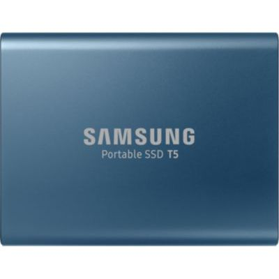 image Samsung Disque Dur Externe SSD Portable T5 (500 Go) - MU-PA500B/EU