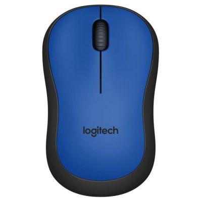 image Logitech M220 Souris sans Fil, Boutons Silencieux, 2,4 GHz avec Nano-Récepteur, Suivi Optique 1000 PPP, Batterie Longue Durée 18 Mois, Ambidextre, Compatible avec PC/Mac/Portable - Bleue