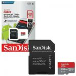 Carte mémoire microSDXC Sandisk Ultra - 256 Go - livrable en France