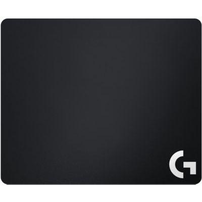 image Logitech G240 Tapis de Souris Gamer en Tissu, Pour Souris Gaming Filaire ou sans Fil, 340 x 280mm, Epaisseur 1mm, Compatible PC/Mac - Noire