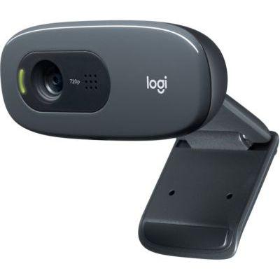 image Logitech Webcam HD C270 Vidéo 720p Microphone Intégré + Logitech USB Headset H390 Micro-casque à filtrage de bruit Noir