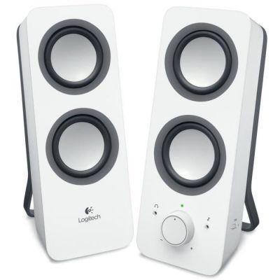 image Logitech Z200 Enceintes PC 10 watts Blanc