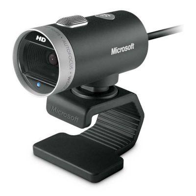 image Microsoft 6CH-00002 LifeCam Cinema Webcam couleur audio Hi Speed USB noir/argente