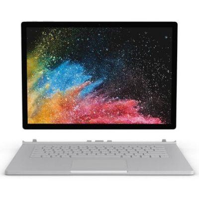 "image Microsoft Surface Book 2, 13,5"" Argent (Core i7, 8Go de RAM, 256Go, Windows 10 Pro) - Clavier AZERTY français"