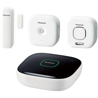 image Panasonic Kit de 2 système de sécurité pour Maison Blanc