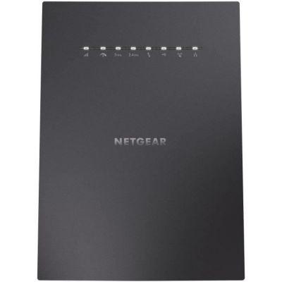 image NETGEAR Répéteur WiFi Mesh Tri-Bandes (EX8000), Amplificateur WiFi AC3000, repeteur WiFi puissant couvre jusqu'à 220m² et 50 Appareils, WiFi Booster jusqu'à 1.3 Gbps, 1 Seul Nom de Réseau