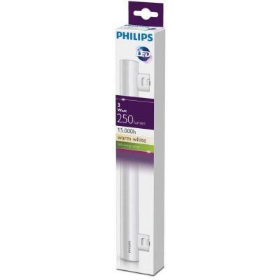image Philips Tube LED Philinea 3W Equivalent 35W 300mm S14S Blanc chaud