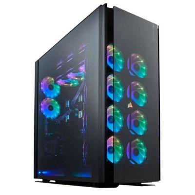 image Corsair Obsidian Series 1000D en verre trempé