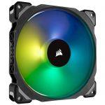 image produit Corsair ML140 PRO RGB, 140mm Haute Pression à Faible son Premium Ventilateur à Lévitation Magnétique, Vendu Seul - livrable en France