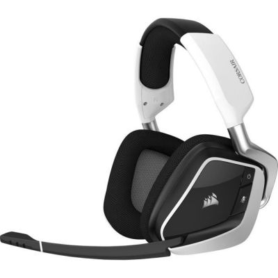 image Corsair VOID PRO RGB WIRELESS Casque Gaming (PC, Sans Fil, Dolby 7.1) Blanc