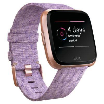 image Fitbit Versa - Montres Connectées Forme et Sport  - Étanche, Suivi Fréquence Cardiaque - Lavande