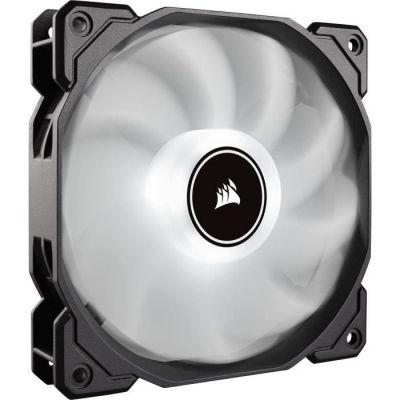 image Corsair AF120, Air Series, 120mm LED Ventilateur Silencieux - Blanc (Pack Individuel)