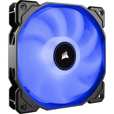 image Corsair AF120, Air Series, 120mm LED Ventilateur Silencieux - Bleu (Pack Individuel)