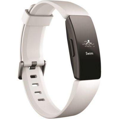 image produit Fitbit Inspire Hr, Bracelet pour La Forme au Quotidien avec Suivi Continu de leFréquence Cardiaque, Blanc , Noir - livrable en France