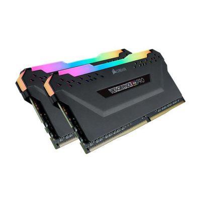 image produit Corsair Vengeance RGB PRO - Kit de Mémorie Enthousiaste (16Go (2x8Go), DDR4, 2933MHz, C16, XMP 2.0) Eclairage LED RGB dynamique - Noir - livrable en France