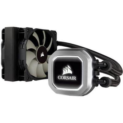 image Corsair Hydro H75Système de Refroidissement à Liquide pour CPU, Radiateur de 120mm, Double Ventilateur, Noir
