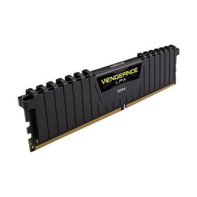 image Corsair Vengeance LPX 16Go (2x8Go) DDR4 2666MHz C16 XMP 2.0 Kit de Mémoire Haute Performance pour AMD Ryzen - Noir
