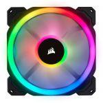 image produit Corsair ventilateur LL140 RGB LED PWM pack individuel