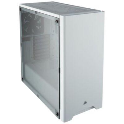image Corsair Carbide 275R Boîtier PC Gaming (Fenêtré Moyenne Tour ATX) - Blanc
