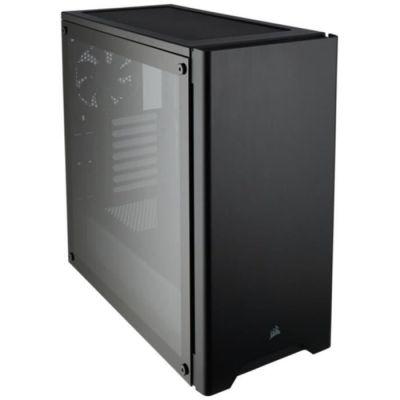 image Corsair Carbide 275R Boîtier PC Gaming (Moyenne Tour ATX avec Fenêtre en Verre Trempé) - Noir