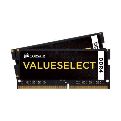 image Corsair CMSO8GX4M2A2133C15 Value Select 8GB (2x4GB) DDR4 2133Mhz CL15,  Noir