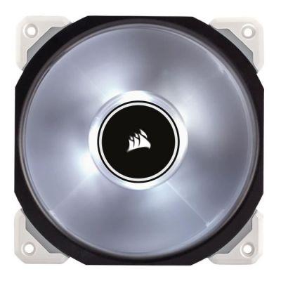 image Corsair - CO-9050041-WWML120 - PRO Ventilateur de Boitier, 120mm, Premium Ventilateur à Lévitation Magnétique, Blanc LED (Single Pack)