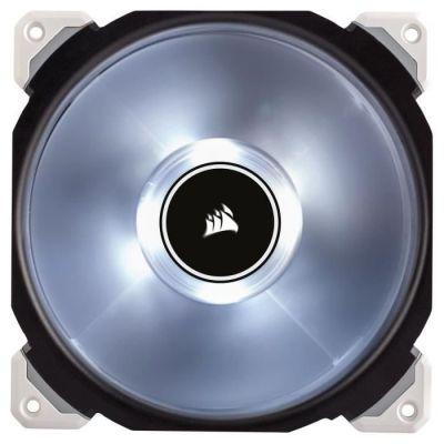 image Corsair - CO-9050046-WWML140 - PRO Ventilateur de Boitier, 140mm, Premium Ventilateur à Lévitation Magnétique, Blanc LED (Single Pack)