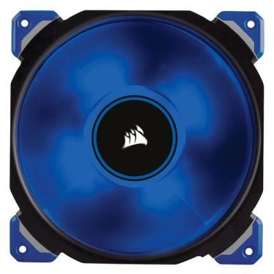 image Corsair - CO-9050048-WWML140 - PRO Ventilateur de Boitier, 140mm, Premium Ventilateur à Lévitation Magnétique, Bleu LED (Single Pack)