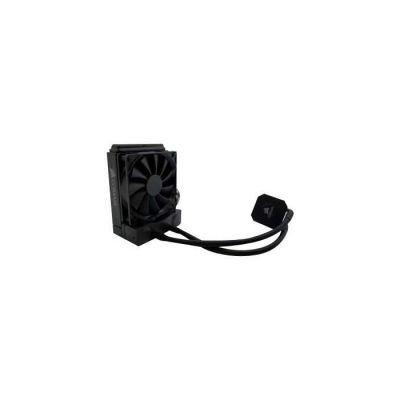 image Corsair Hydro H45 Refroidisseur Liquide (120mm Radiateur, une SP120 PWM Ventilateur, All-in-One Liquid CPU Cooler) Noir