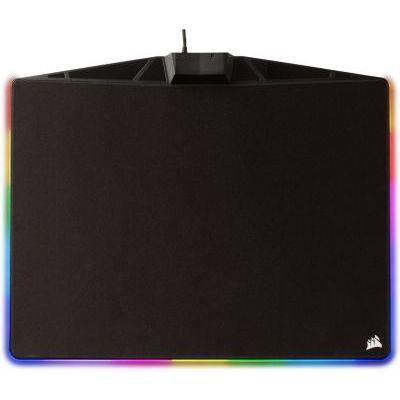 image Corsair MM800C RGB Polaris Tapis de Souris Gaming (Moyen, 15 Zones RGB, Tissu) Noir
