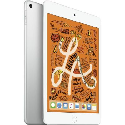 image Apple iPad mini 5 Wi-Fi (64 Go) - Argent (2019)