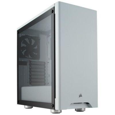 image Corsair Carbide 275R Boîtier PC Gaming (Moyenne Tour ATX avec Fenêtre en Verre Trempé) - Blanc