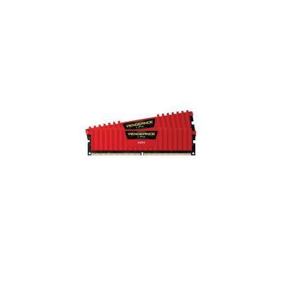 image Corsair Vengeance LPX 16Go (2x8Go) DDR4 2133MHz C13 XMP 2.0 Kit de Mémoire Haute Performance - Rouge