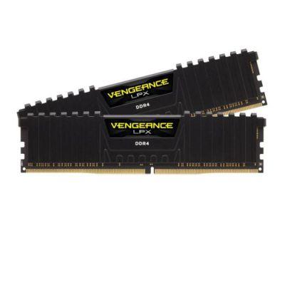 image Corsair Vengeance LPX 16Go (2x8Go) DDR4 2400MHz C16 XMP 2.0 Kit de Mémoire Haute Performance pour AMD Ryzen et Intel 200 - Noir