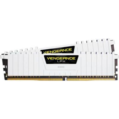 image Corsair Vengeance LPX 16Go (2x8Go) DDR4 3000MHz C16 XMP 2.0 Kit de Mémoire Haute Performance - Blanc