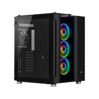 image Corsair Crystal Series 680X RGB, Flux d'air élevéen Verre Trempé ATX Astucieux Gaming Boîtier - Noir