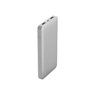 image Belkin Batterie externe Pocket Power Bank 10000 mAh (rechargement rapide) – Argent